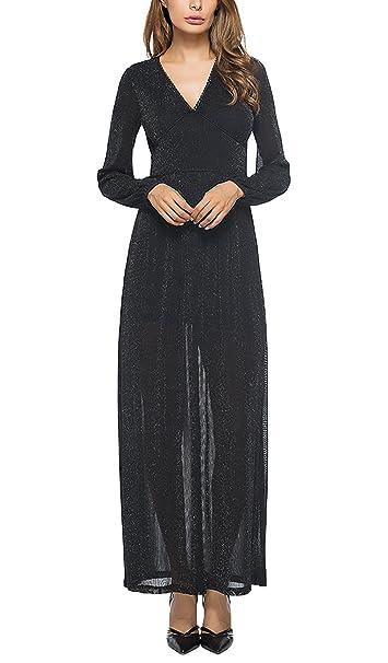 Mujer Vestidos De Fiesta Para Bodas Largos De Noche Vestir Invierno Otoño Elegantes Vestidos De Cóctel