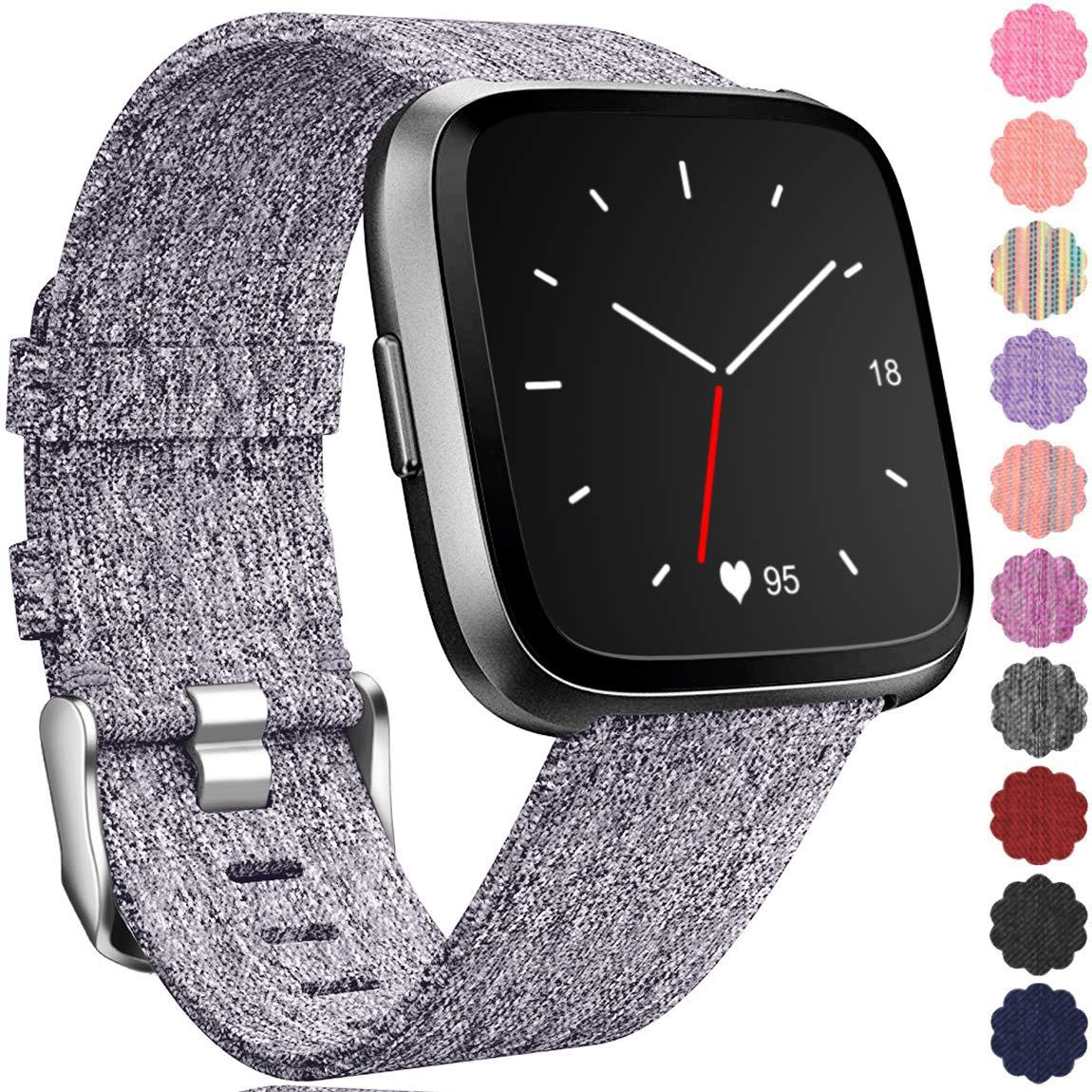 Malla Repuesto Para Reloj Fitbit Versa/lite/special Talle L