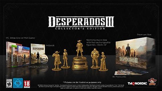 Desperados III Collectors: Amazon.es: Videojuegos