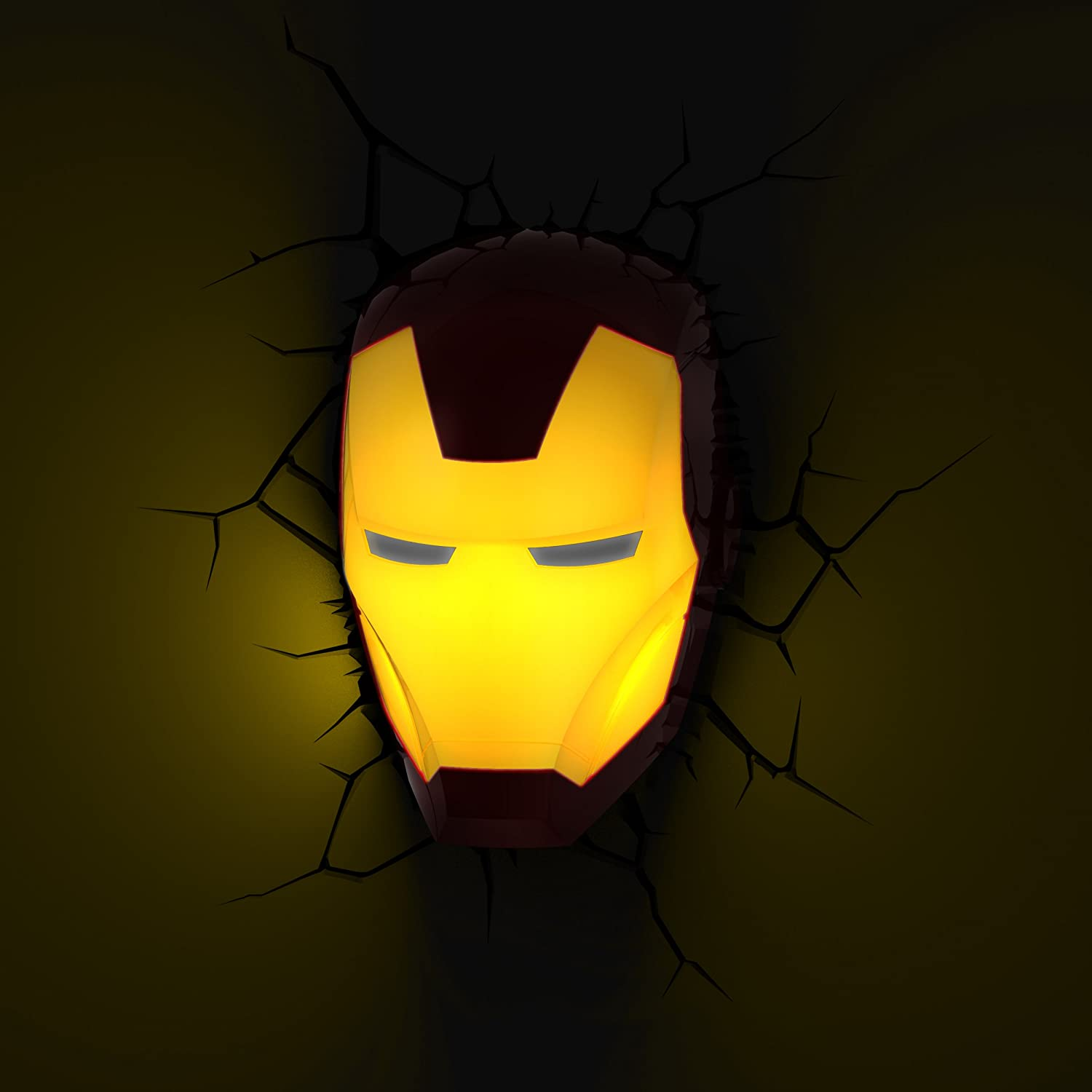 Amazon.com: 3D Light FX Marvel Mini 3D Deco Wall LED Night Light ...
