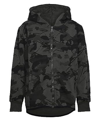 LotMart Teens Camouflage Print Tracksuit Kids Boys Hooded Top ... a42769b64b