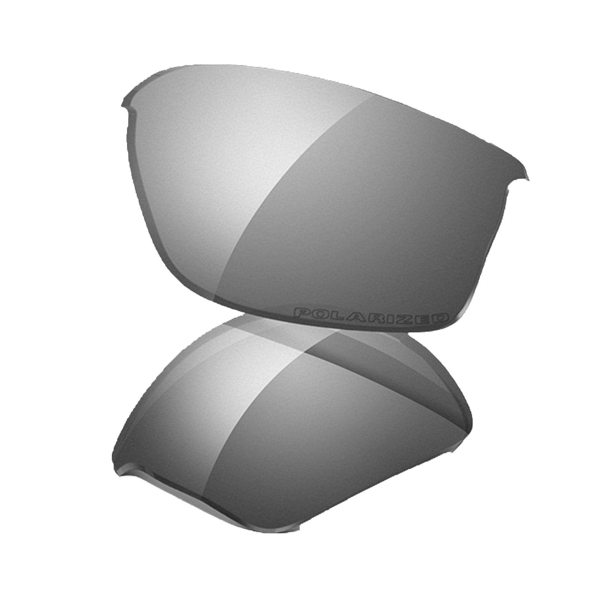 Oakley Flak 2.0 XL Replacement Lens Black Iridium Polarized, One Size by Oakley