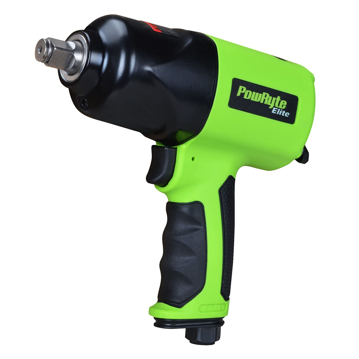 PowRyte 500036 Elite 1/2-Inch Composite Heavy Duty Air Impact Wrench (Twin Hammer) by PowRyte Eosmos 5000360
