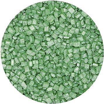 Natural verde tuercas leche de soja Gluten OMG libre Shimmer brillante azúcar