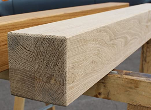 Pata de mesa de roble, madera maciza, patas de madera cuadradas ...