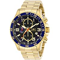 Invicta Mens Quartz Watch, Analog Display and Stainless Steel Strap 14878