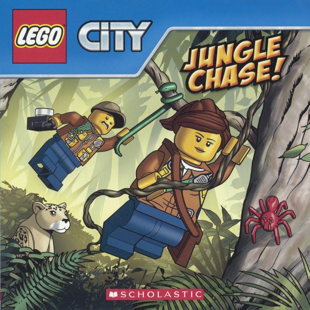 Jungle Chase! (Lego City 8x8) (Turtleback School & Library Binding Edition) pdf