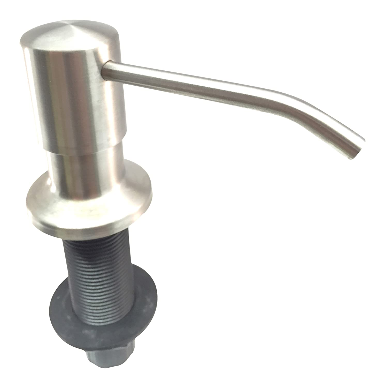 ultimate kitchen罎邃笋 best stainless steel sink soap dispenser