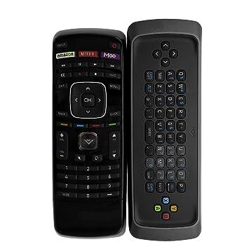 vizio tv remote with keyboard. new smart tv qwerty keyboard remote xrt302 fit for vizio tv with