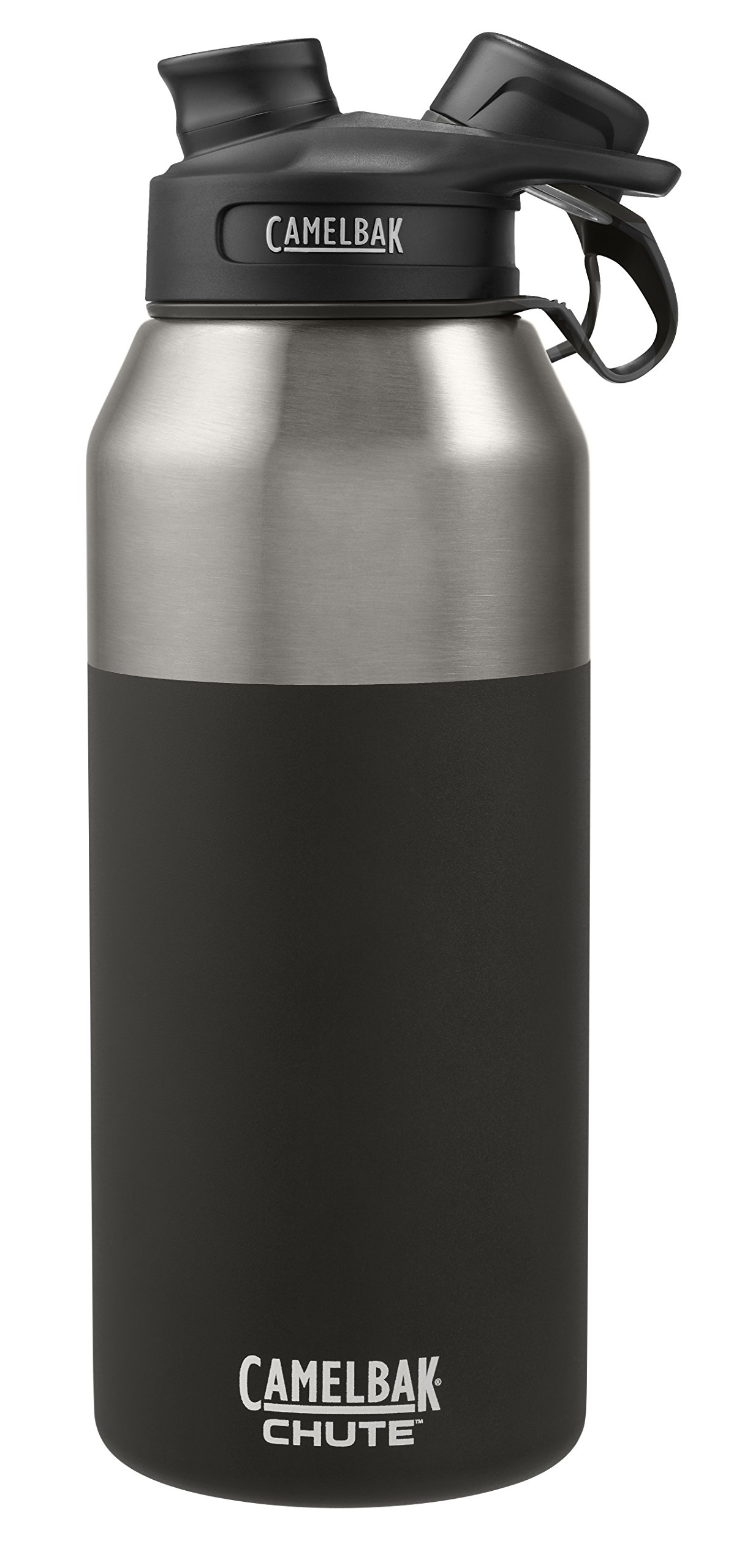 CamelBak 53868 Chute Vacuum Insulated Stainless Water Bottle, 40 oz, Jet by CamelBak (Image #4)
