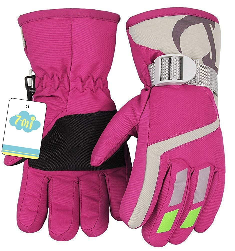 Kids Winter Warm Gloves For Skiing//Cycling Children Mittens For 3 To 5 Years Old