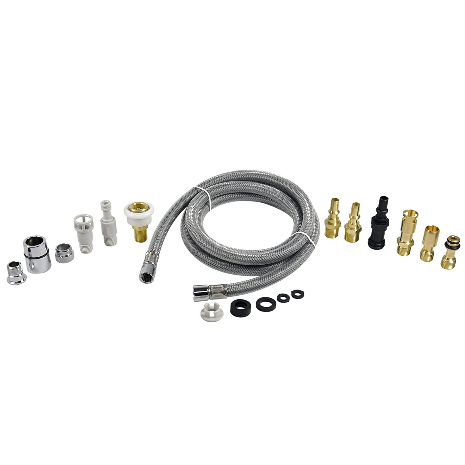 Danco NEW Faucet Pull-Out Spray Hose Kit for Kitchen Pullout Sprayer Heads, 10912
