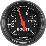 Auto Meter 2601 Z-Series 2' Mechanical Vacuum/Boost Gauge