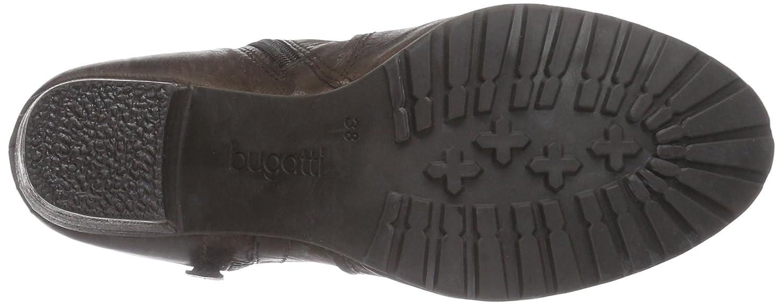 Bugatti 610) V52321G1R Damen Kurzschaft Cowboystiefel Braun (Dunkelbraun 610) Bugatti 09171a