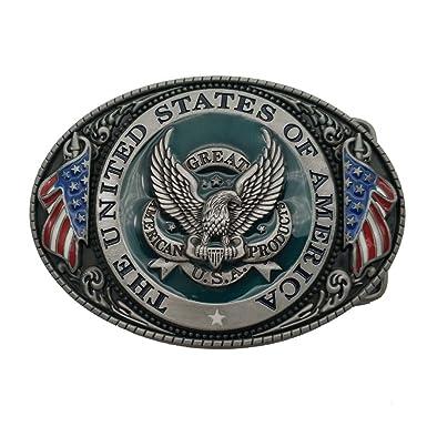 f5932a698d81 Great America Product Eagle USA Belt Buckle Boucle de ceinture ...