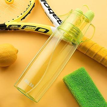 Deporte Spray agua Bottle- 580 ml Niebla de enfriamiento y bebida ...