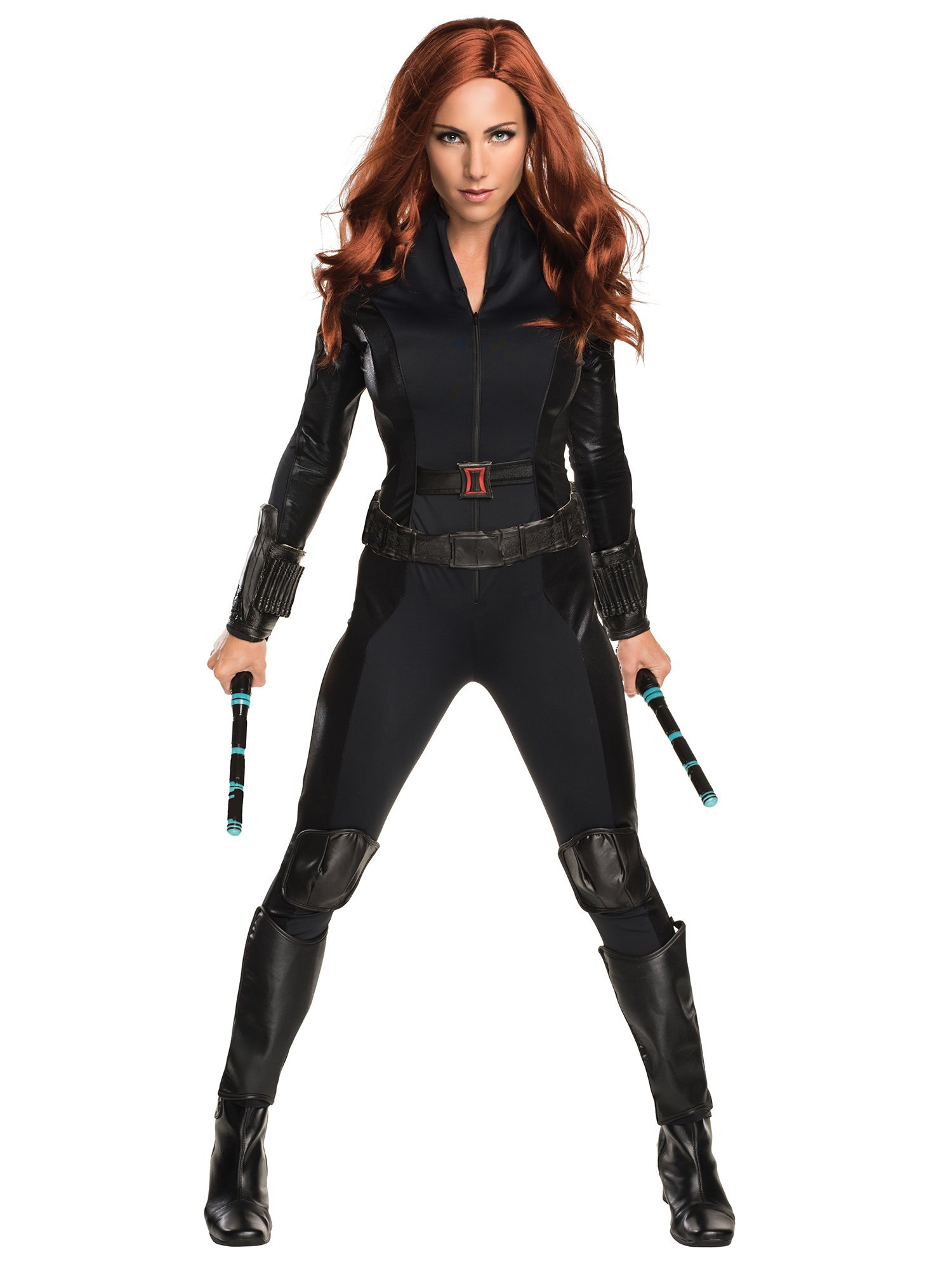 Rubie's Costume Co Women's Captain America: Civil War Widow Costume, Black, Small by Rubie's Costume Co