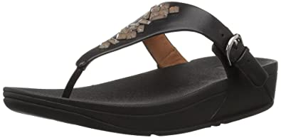 e687c4f661c FitFlop Women s The Skinny Toe-Thong Sandals-Crystal
