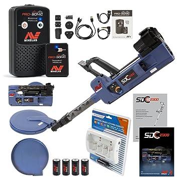 Detector de metales MINELAB oscd 2300 especial con Pro-sonic sistema de audio inalámbrico: Amazon.es: Jardín
