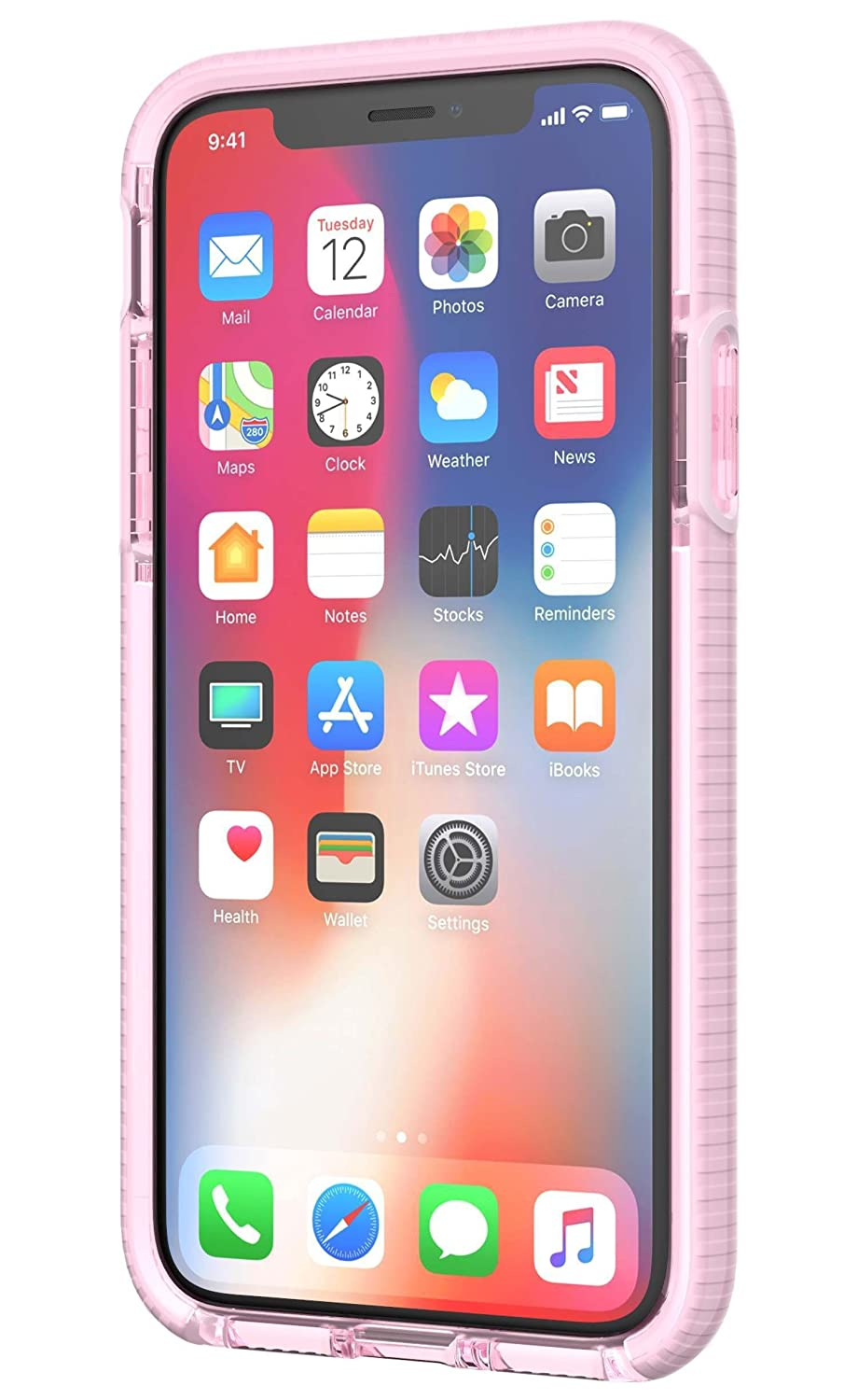 competitive price 897db 83aca Tech21 Evo Gem Case for Apple iPhone X - Pink