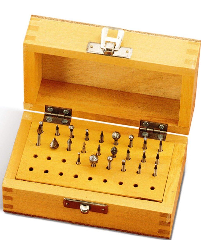 Grobet High Speed Jewelers Bur Set of 15 Bud Shape