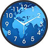 JaipurCrafts Designer Plastic Wall Clock for Home/Living Room/Bedroom/Kitchen- 12 in (with Ajanta Movement)