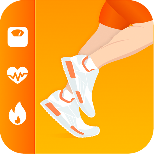 Pedometer Pacer - Step Tracker and Calorie Counter - Kilometer Distance Counter