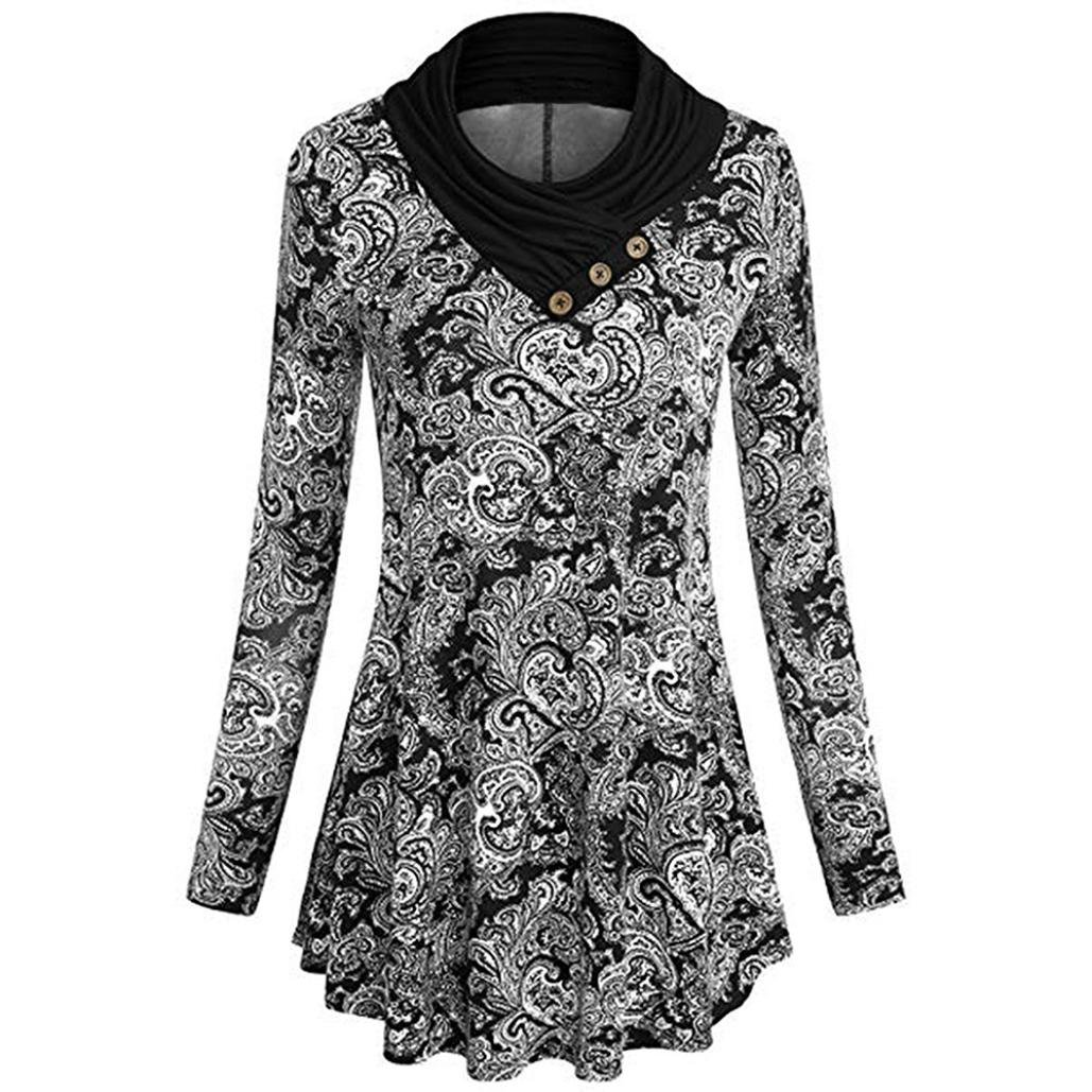 Teresamoon-Shirt SHIRT レディース B07FXF71BS ブラック-05 Small Small|ブラック-05