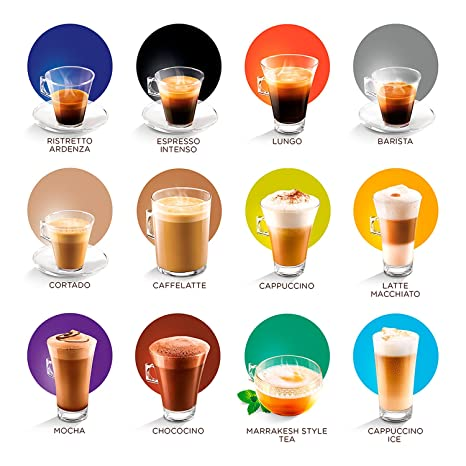 Amazon.com : Nescafe Dolce Gusto Soy Cappuccino Coffee Pods 8 Drinks : Grocery & Gourmet Food