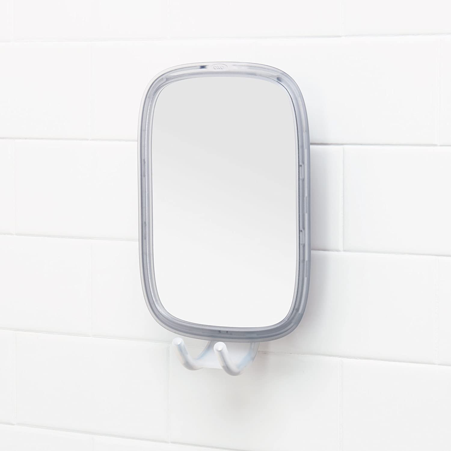 OXO Good Grips Stronghold Suction Fogless Mirror: Home & Kitchen