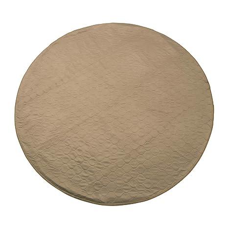Amazon.com: Houseables forro polar Pad cachorro Pad redondo ...