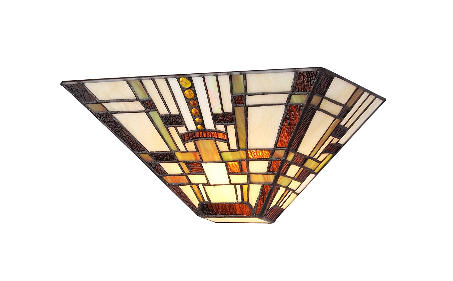 Chloe lighting ch33290ms12 ws1 tiffany style mission 1 light wall chloe lighting ch33290ms12 ws1 tiffany style mission 1 light wall sconce 12 inch multicolored tiffany night light amazon amipublicfo Image collections