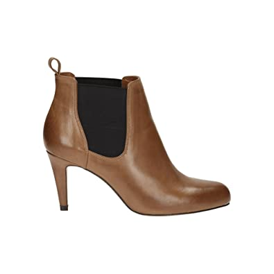 ec9bfa00aad Clarks Carlita Quinn Womens Wide Dress Boots 9 Tan  Amazon.co.uk ...