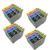 PerfectPrint Compatibile Inchiostro Cartuccia Sostituzione per Epson WF-2010W WF-2510WF WF-2520NF WF-2530WF WF-2540WF WF-2630WF WF-2650DWF WF-2660DWF (Nero/Ciano/Magenta/Giallo, 20-pack)
