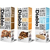 Mixed Flavours Luxury Cookies Biscuits - No Added Sugar Free Diablo (Pack of 3)