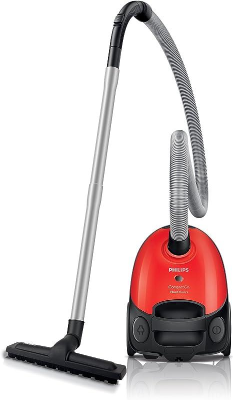 Philips CompactGo FC8120/09 - Aspiradora (1100 W, Aspiradora cilíndrica, Secar, Bolsa para el polvo, 1,6 L, 84 dB): Amazon.es: Hogar