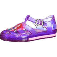 Disney Agata Morado/Cristal Chanclas para Niñas, Color Morado Cristal, 13