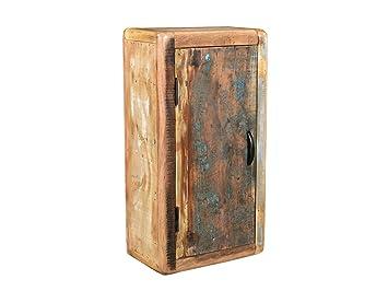 Badezimmer Hangeschrank Holz