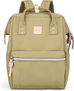 Himawari Laptop Backpack Travel Backpack With USB Charging Port Large Diaper Bag Doctor Bag School Backpack for Women&Men (1881-NYG)