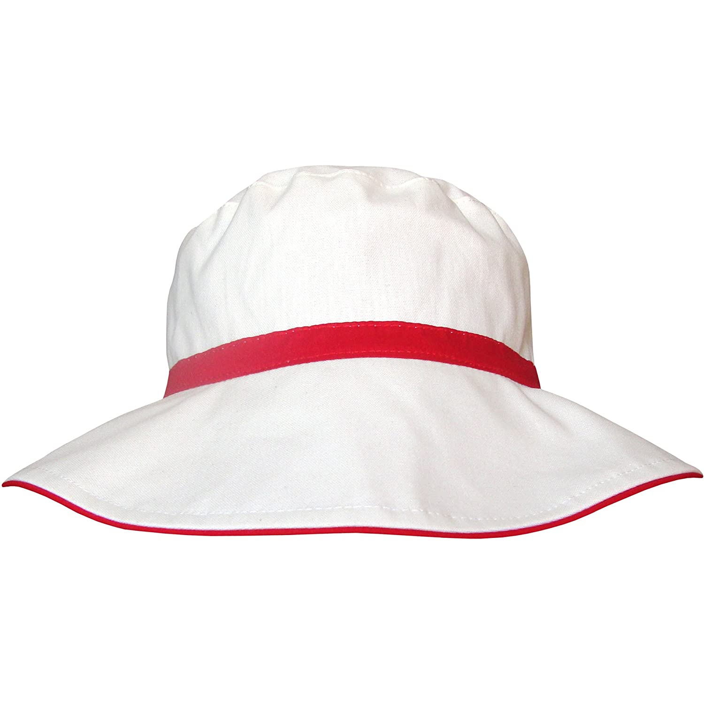 TeddyT's Ladies Fully Reversible 2 in 1 Stripy Wide Brim Summer Sun Hat