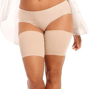Magic Bodyfashion Women's Be Sweet To Your Legs Thigh Slimmer, Black, 3XL