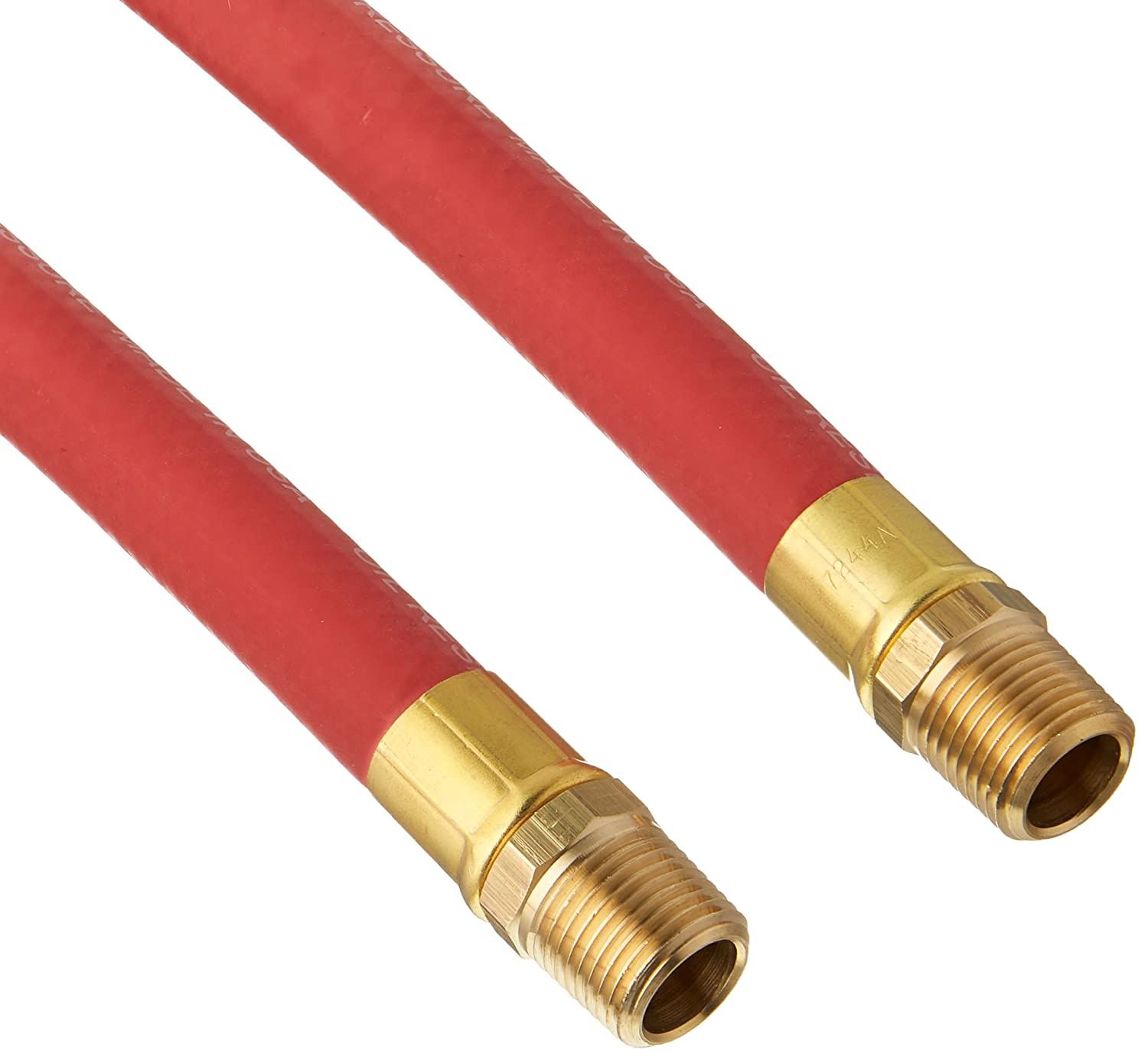 Goodyear 12709 Red Rubber Air Hose 1/2-Inch x 50-Feet 250 PSI