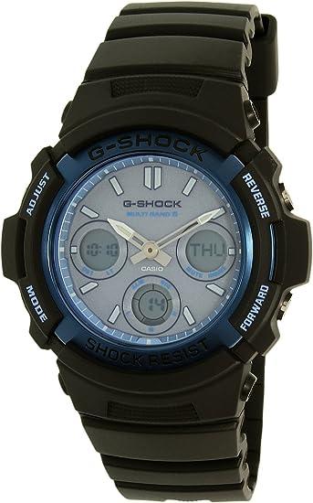 [カシオ] CASIO G-SHOCK 腕時計 デジアナ 電波ソーラー AWG-M100SF-2A (AWG-M100SF-2AJR 同型) [並行輸入品]