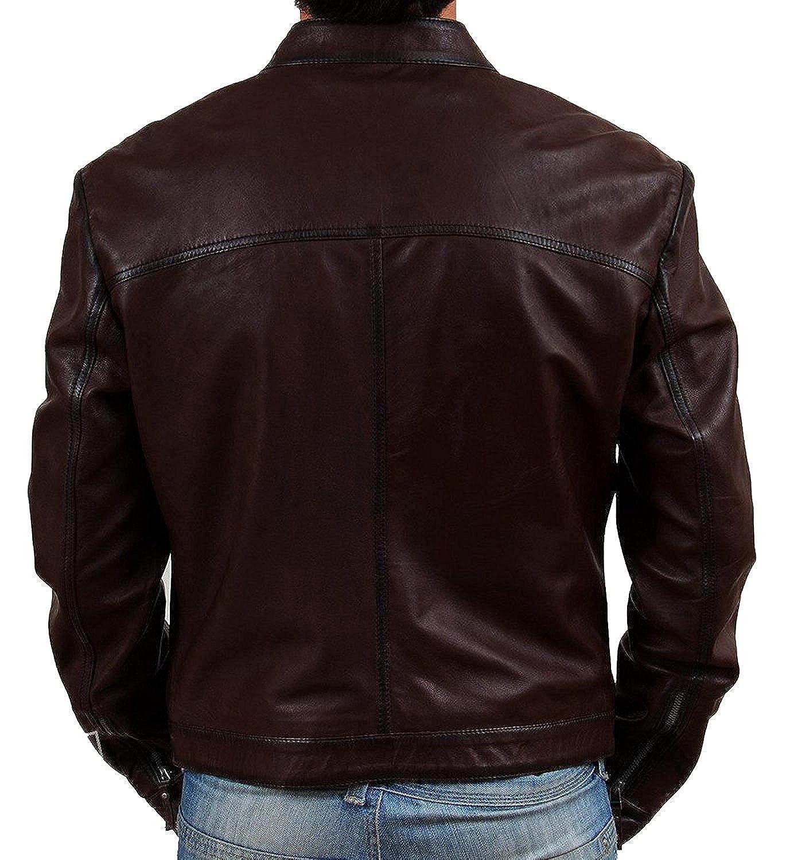 zacharias menu0027s pu faux leather jacket amazonin clothing u0026 accessories