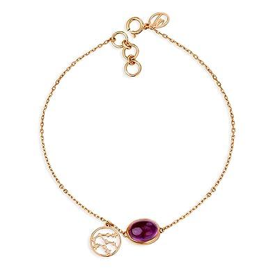 db73a36c35fd4 Buy Mia By Tanishq 14KT Rose Gold Aquarius Bracelet for Women Online ...