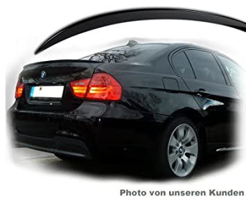 Car-Tuning24 53372778 wie Performance und M3 E90 M3 Tuning 2005-13 Trunk Lip Spoiler Rear Tail Lid BLACK Body kit