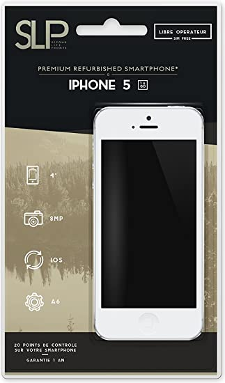 Apple Iphone 5 - Smartphone 3G+, pantalla 4