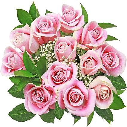 Elegante ramo de rosas rosas: Amazon.com: Grocery & Gourmet Food