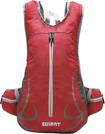 31ec133a21c EULANT Lightweight Running Backpack,Cycling Rucksack Waterproof Women    Men, Small Travel Knapsack for