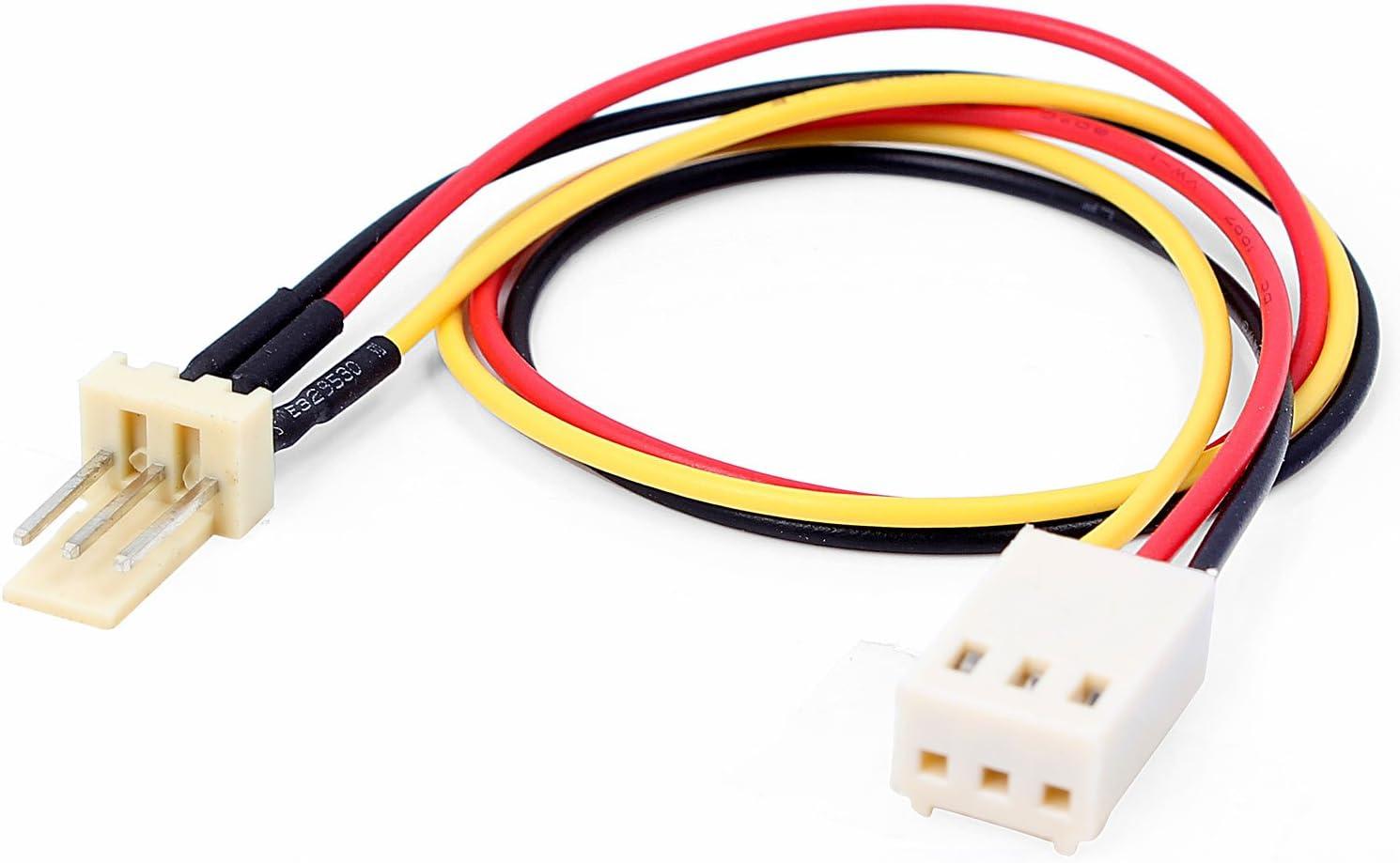 Neuftech Lüfter Verlängerung Kabel 3 Pin Stecker Auf Elektronik